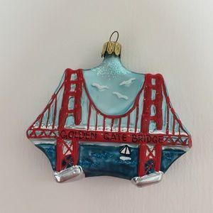 Other - San Francisco Golden Gate Bridge Ornament 🌉
